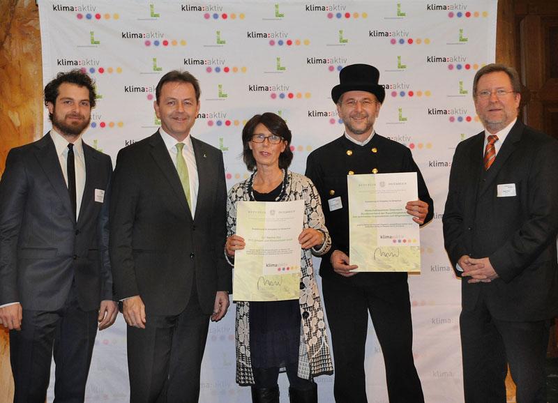 Klima:aktiv Auszeichnung 2013