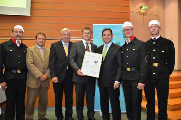 Verleihung EMAS-Urkunden